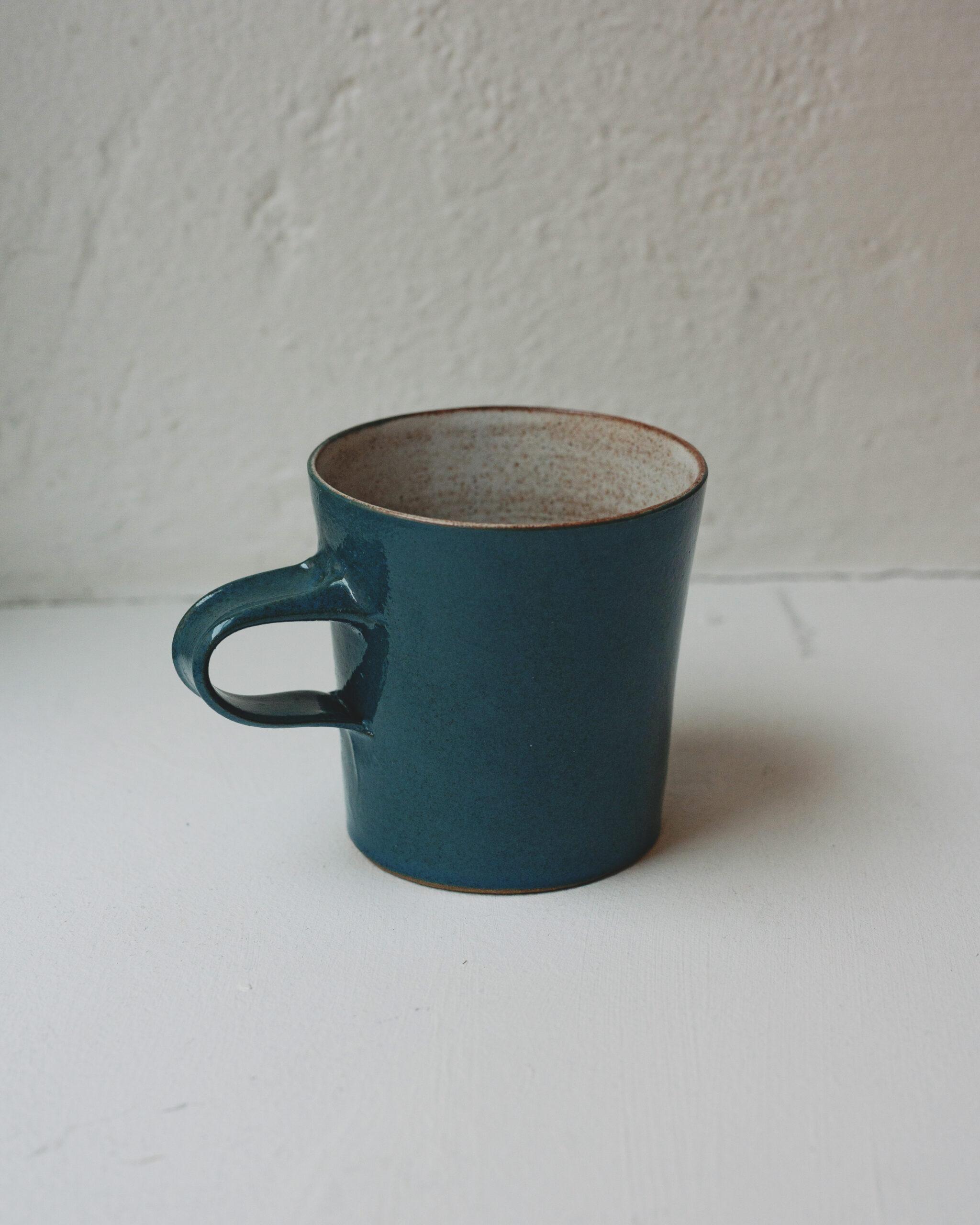 Kopp blågrön